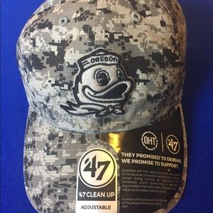 NEW Oregon Ducks CAMO '47 Hat Adjustable